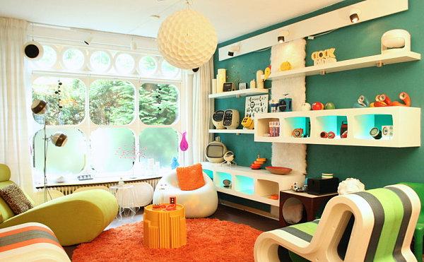 Vintage style interieur 10 r ume mit einem besonderen retro touch - Vintage wandfarbe ...