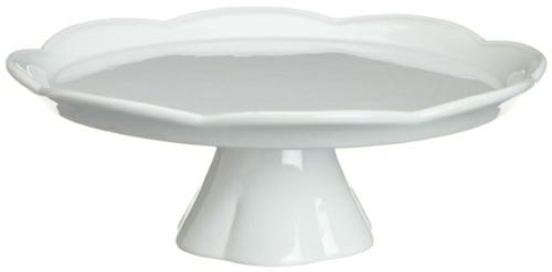 weiß porzellan backwaren platte kuchenplatten ständer