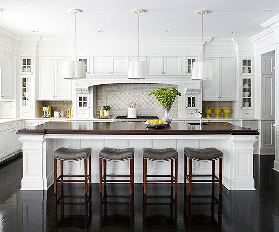 Weiße Küchenschränke für jeden Geschmack - 15 elegante Designs   {Küchenschränke 75}