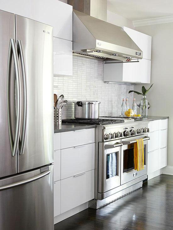 Weiße Küchenschränke für jeden Geschmack - 15 elegante Designs