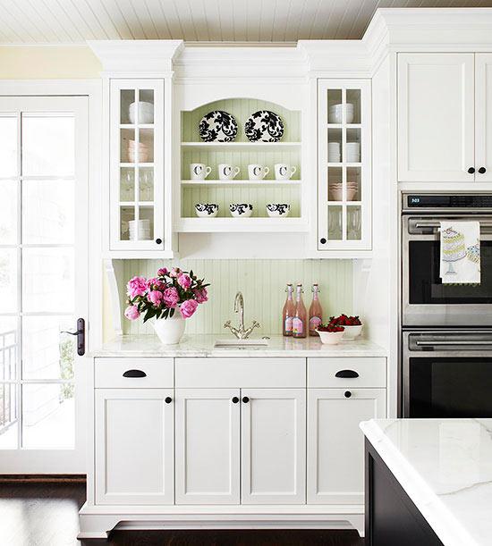 zeitlose reiz stilvollen weisen kuchenschranken – modernise, Innenarchitektur ideen