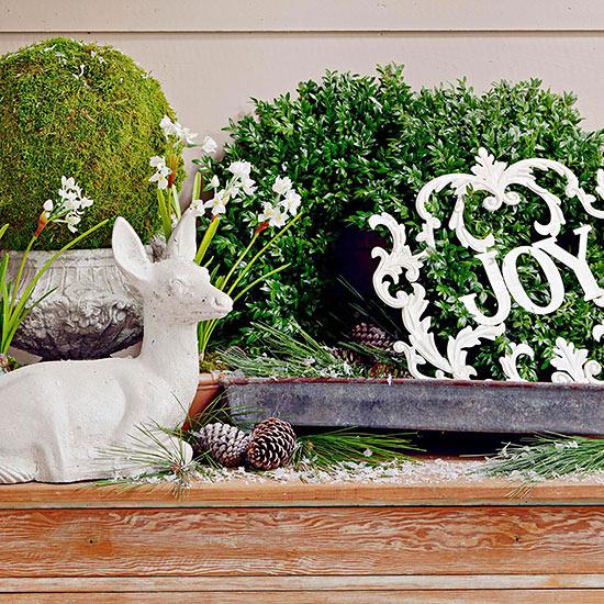 weihnachtsdeko ideen winter verzierung pinienzapfen