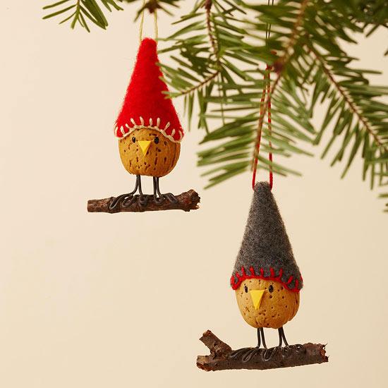 weihnachtsdekoration basteln - originelle zierornamente selber machen - Weihnachtsdekoration Basteln
