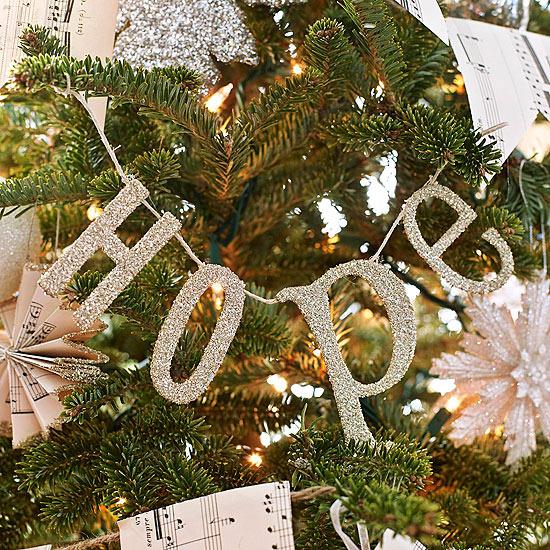 weihnachtsdekoration basteln tannenbaum weihnachtsbaum buschstaben