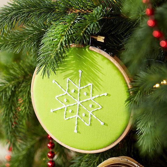 Weihnachtsdekoration basteln originelle zierornamente - Tannenbaumschmuck basteln ...