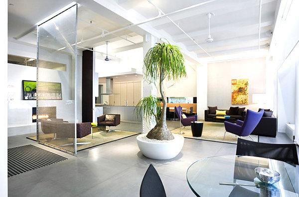 Moderne Wohnzimmer Mit Offener Kuche Grosse Schlafzimmer Design