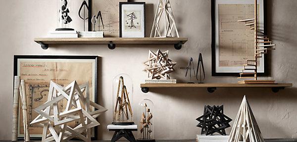 wohnen und dekorieren kunstwerk wand deko figuren