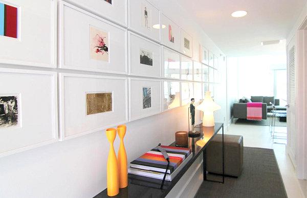 wohnen und dekorieren kunstwerke wand deko flur apartment