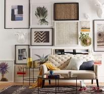 Wohnen und dekorieren – 20 Räume mit einmaligen dekorativen Details