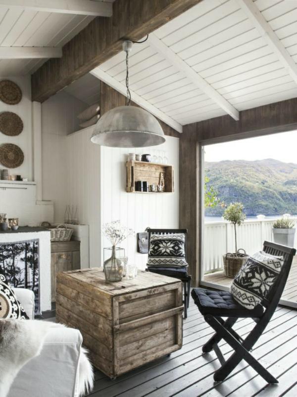 wohnen und einrichten ein ferienhaus mit skandinavischem design. Black Bedroom Furniture Sets. Home Design Ideas