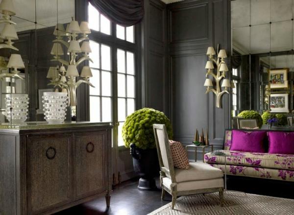 Design Wohnzimmer Schwarz Holz Inspirierende Bilder Von