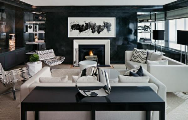 Wohnzimmer Farben Rechteckiger Esstisch