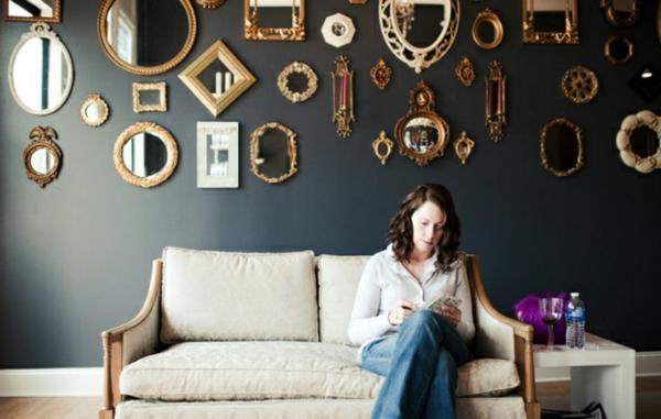 spiegel wohnzimmer: design wohnzimmer spiegel modern inspirierende, Wohnzimmer