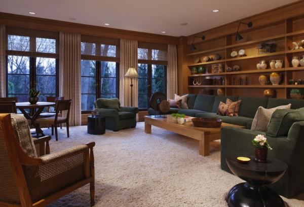 wohnzimmer ideen wie man raumausstattung auf die familie ausrichtet. Black Bedroom Furniture Sets. Home Design Ideas