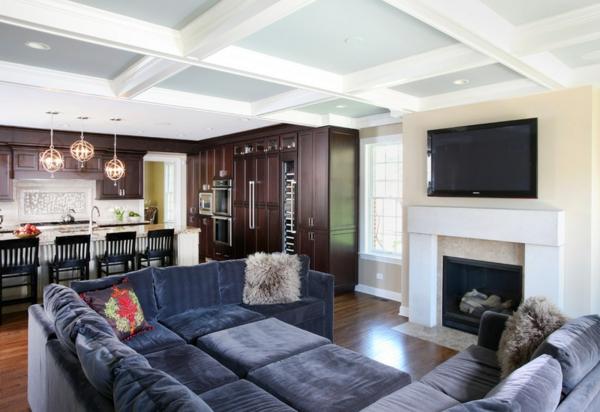 wohnzimmer ideen wie man raumausstattung auf die familie ausrichtet - Raumausstattung Ideen