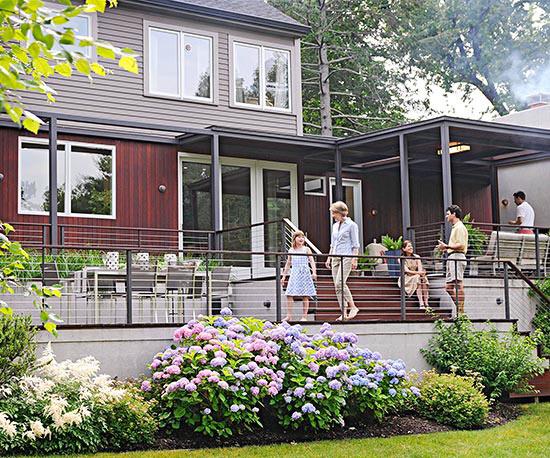 wunderschöne veranda inspirationen geräumig mit hortensien