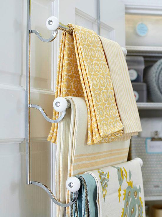 zusätzlichen stauraum schaffen tücher ständer