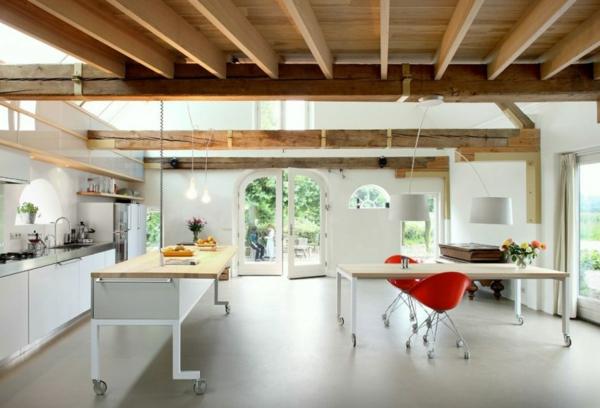 Alte Scheune in eine attraktive Residenz küche niedrig etage