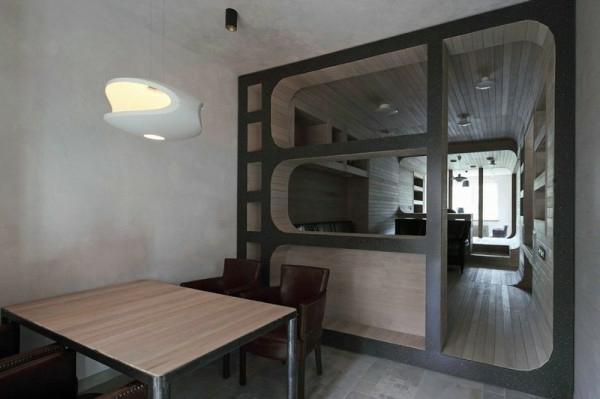 komplett aus Holz homeoffice esszimmer esstisch Apartment