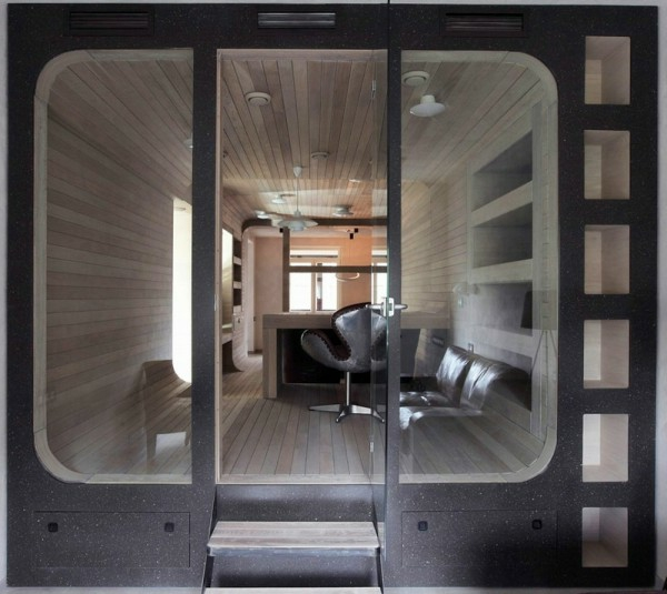 Apartment komplett aus Holz klein