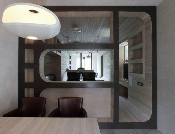 Apartment komplett aus Holz