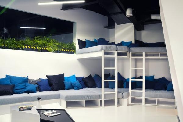 Büro wie ein Raumschiff auflagen sitzplatz leiter