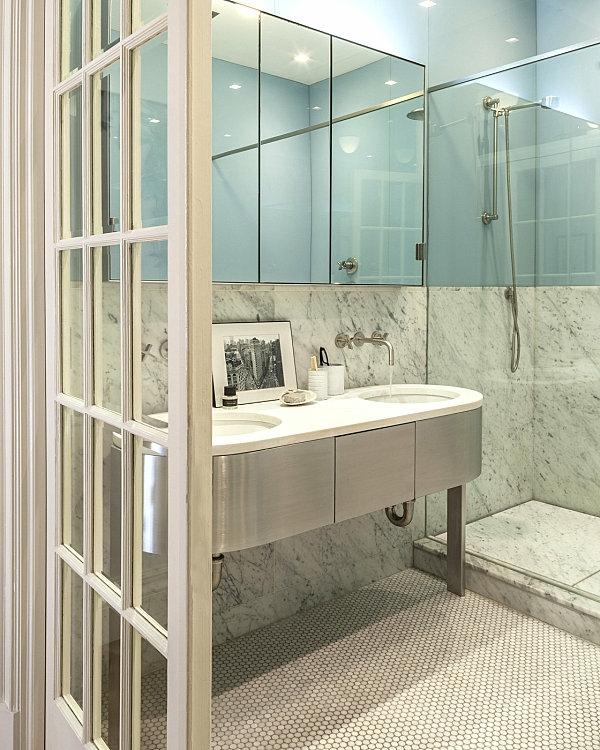 Badzubehör und Badeinrichtung spiegeltüren schrank duschkabine