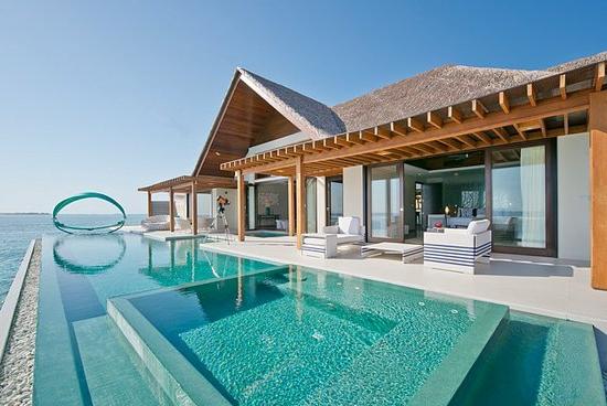 beach resort auf den malediven die flitterwochen da. Black Bedroom Furniture Sets. Home Design Ideas