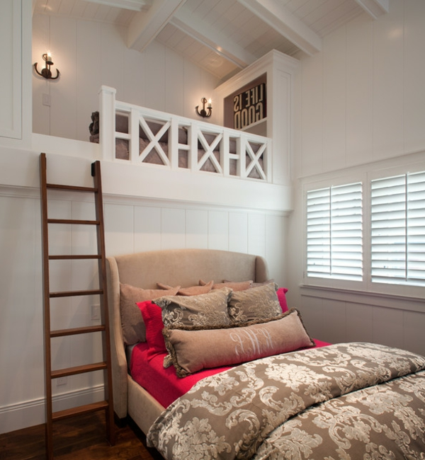 12 bezaubernde betten f r ihr schlafzimmer im dachgeschoss. Black Bedroom Furniture Sets. Home Design Ideas