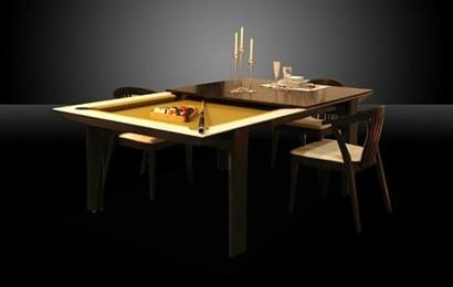 Lustige Einrichtungsideen U2013 Billardtisch Für Kleine Räume Geeignet