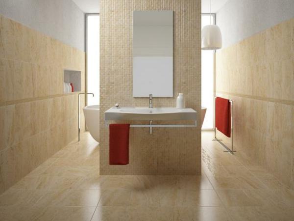 Bodenfliesen Bad Mosaik: Badezimmer Trends Fliesen Noveric For ... Muster Badezimmer