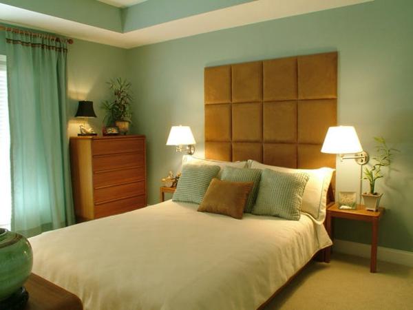 Bunte Schlafzimmer Designs beruhigend atmosphäre