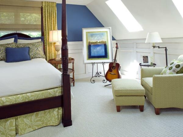 12 bunte schlafzimmer designs welche farben bevorzugen sie for Bunte sessel