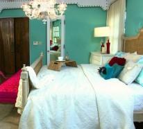 12 bunte Schlafzimmer Designs - Welche Farben bevorzugen Sie?