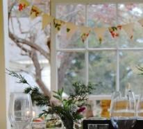 Coole Tischdeko für Weihnachten – 8 tolle rustikale Wohnideen