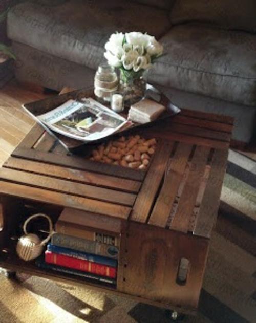 16 diy projekte aus vorhandenen stoffen und materialien. Black Bedroom Furniture Sets. Home Design Ideas