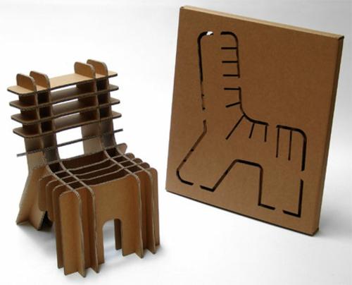 16 diy projekte aus vorhandenen stoffen und materialien - Stuhl aus pappe ...
