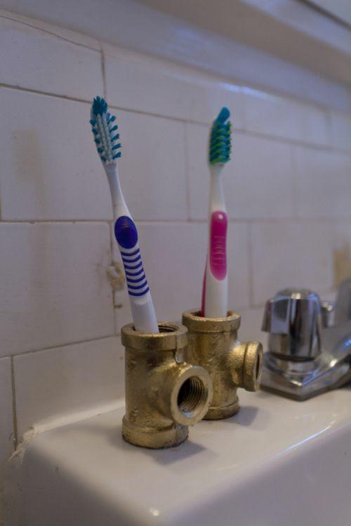 15 Diy Zahnbürstenhalter Ideen - Ganz Außergewöhnlich Diy Badezimmer