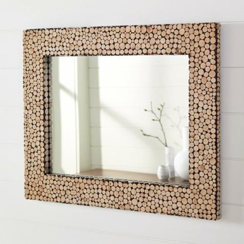15 dekoideen f r diy wandspiegel rahmen kreativ und for Spiegel mit rahmen
