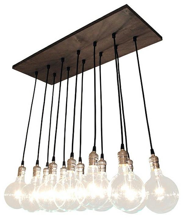 Die Beleuchtung zu Hause hängelampen glühbirnen
