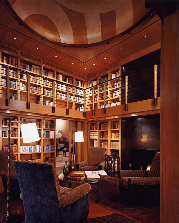 Die besten Ideen für Wohnzimmer bücher bibliothek regale