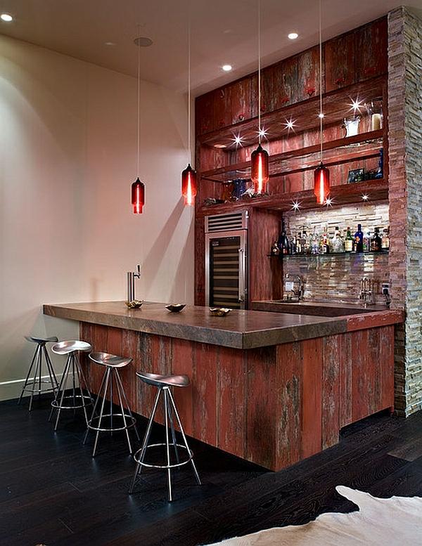 Bar Im Wohnzimmer
