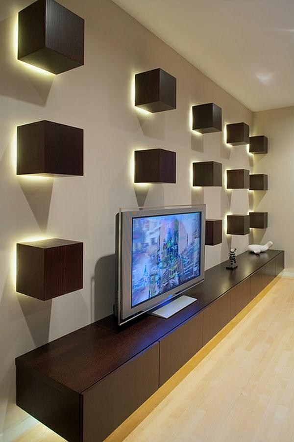 Die besten Ideen für Wohnzimmer lichtkörper wand eingebaut
