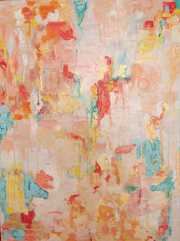 Inneneinrichtung abstrakt kunst gemälde whitney reynolds orr