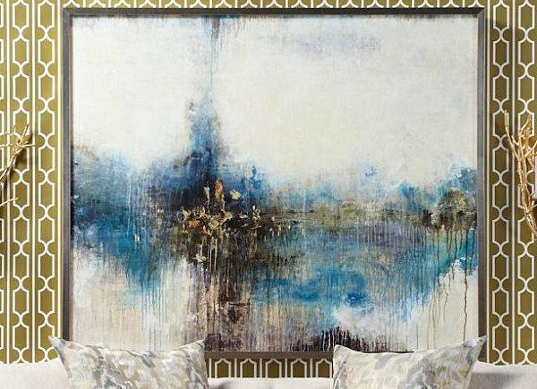 Eklektische Inneneinrichtung abstrakt kunst z gallerie