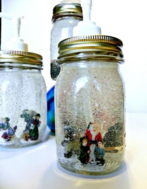 Günstige Dekoideen für Weihnachtsgeschenke Flüssigseifenspender