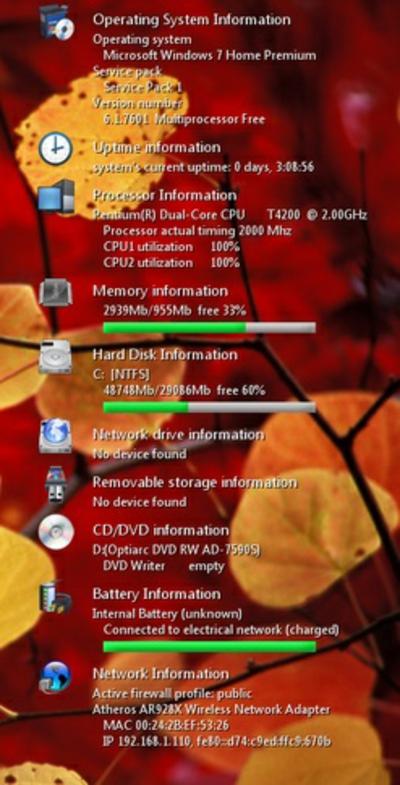 Gadgets für Windows 7 applikationen system allgemein