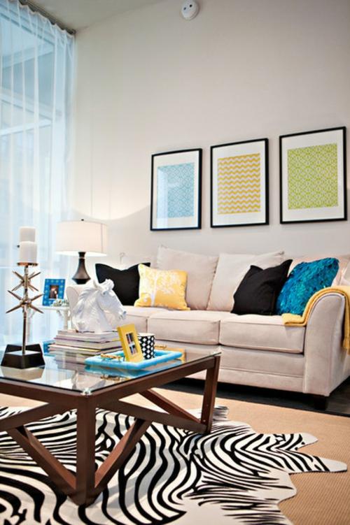 Heimtextilien und Texturen richtig kombinieren eklektisch wohnzimmer bilder