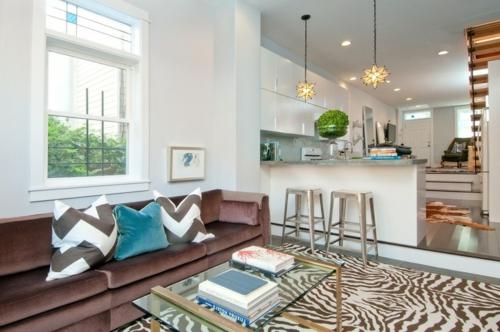 Heimtextilien und Texturen richtig kombinieren samt kissen sofa