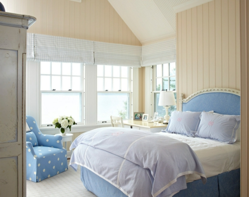 Heimtextilien und Texturen richtig kombinieren traditionell schlafzimmer kopfteil